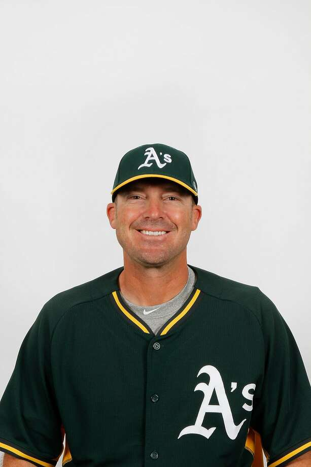 The Oakland Athletics named Ryan Christenson�as their new bench coach on Oct. 19, 2017. Christenson managed at Triple-A Nashville in the 2017 season. Photo: Chronicle / Oakland Athletics