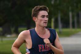 Sean Minson, a resident of Darien, set a new PR for himself as he was GFA's No. 1 runner during an FAA meet at Sherwood Island State Park last week.
