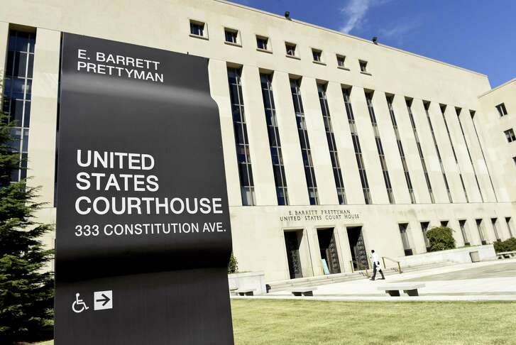 """The three-judge panel of the U.S. Court of Appeals for the D.C. Circuit said its order Thursday was intended only to """"give the court sufficient opportunity to consider the emergency motion for stay and should not be construed in any way as a ruling on the merits of that motion."""" Shown is the E. Barrett Prettyman U.S. Courthouse in Washington, which houses the U.S. Court of Appeals for the D.C. Circuit."""