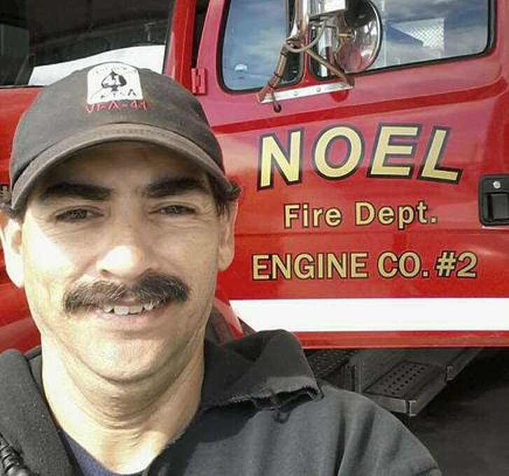 Firefighter Garrett Paiz, 38, died when truck ran off road.