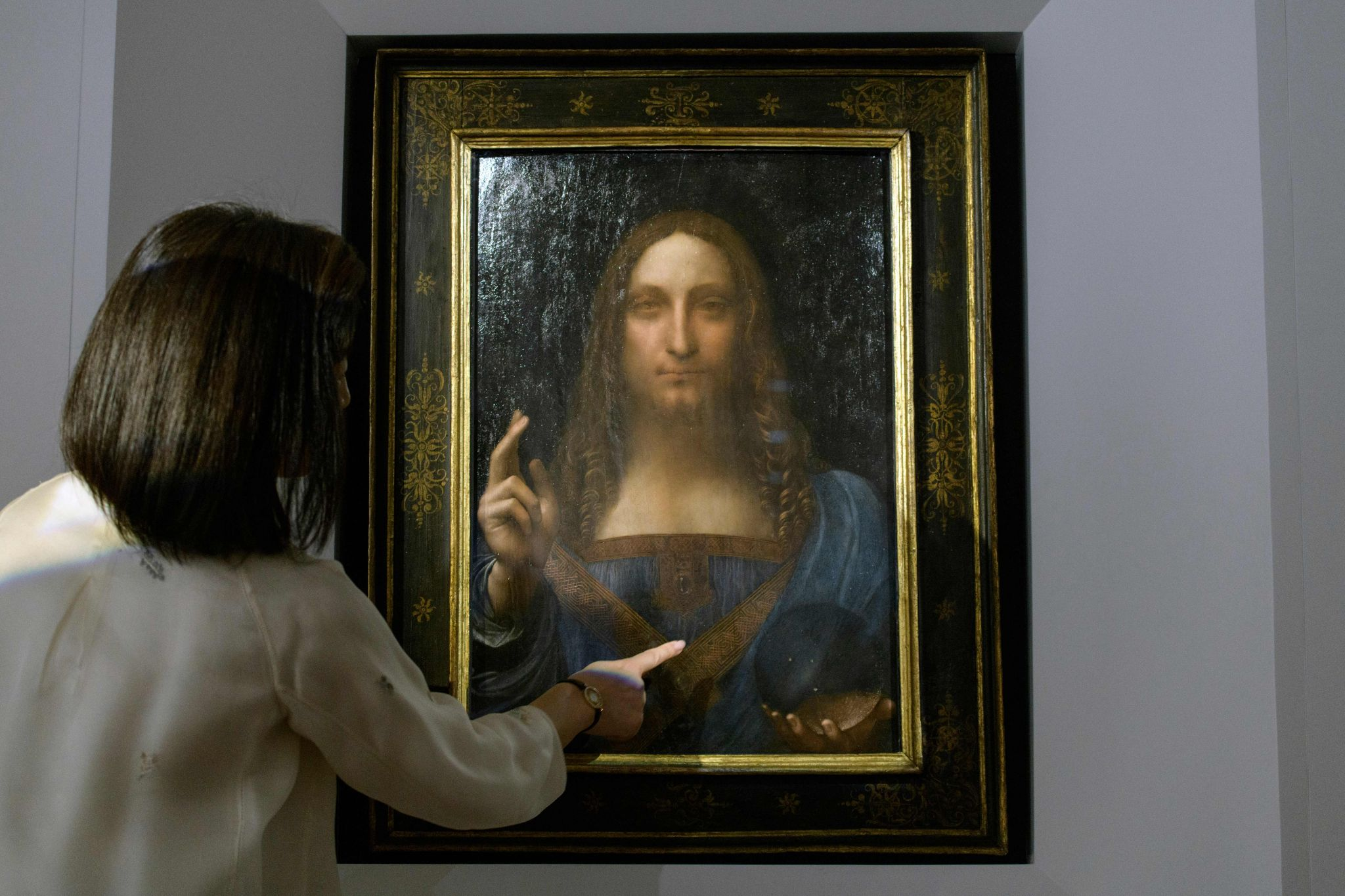 Leonardo da Vinci\u0027s Christ painting sells for record $450M ...