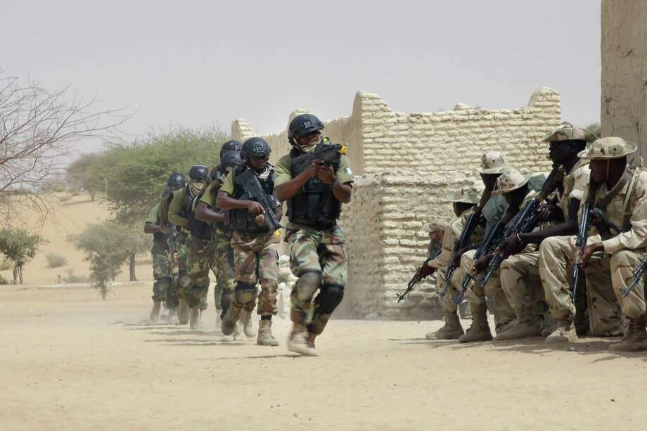 Nigerian and Chadian troops participated with U.S. advisers in 2015 in Chad. U.S. and French forces have provided training to the militaries in the Sahel region bordering the Sahara Desert. Photo: Jerome Delay / Jerome Delay / Associated Press 2015 / ap