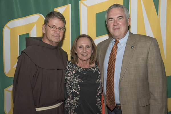 Siena College raised nearly $48,000 at the 18th annual Festa Vino on October 12. More than 700 guests attended the food and wine benefit at Siena's Marcelle Athletic Complex, with proceeds going toward the Siena Saints Alive! Athletic Fund and other programs at the College.   More than 60 friends and business partners of the College helped to underwrite the event.   Festa Vino featured food samplings from 24 Capital Region restaurants, and more than 100 different wines from around the world through a partnership with Craig Allen '91, owner of All Star Wine & Spirits.