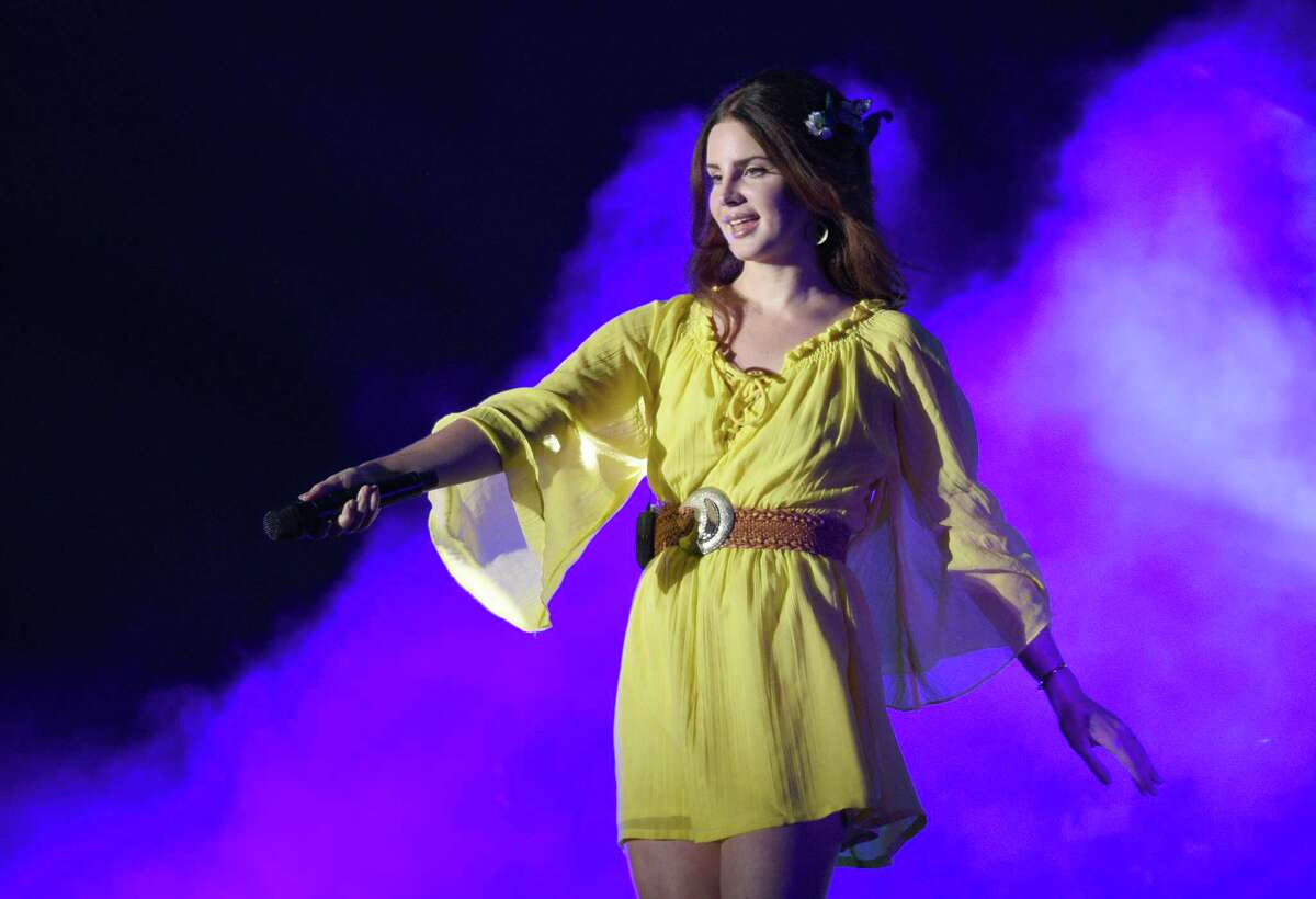 SAN FRANCISCO, CA - AUGUST 07: Lana Del Rey performs during the 2016 Outside Lands Music And Arts Festival at Golden Gate Park on August 7, 2016 in San Francisco, California.