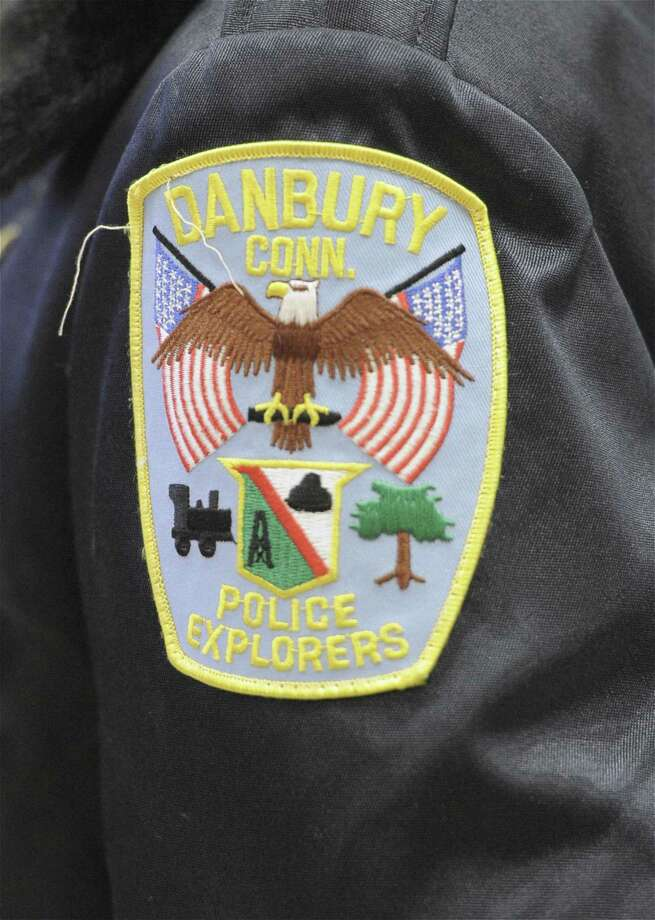 A Danbury Police Explorers patch. Thursday, October 23, 2014, at the Danbury, Conn, Police Department. Photo: H John Voorhees III / H John Voorhees III / The News-Times Staff Photographer