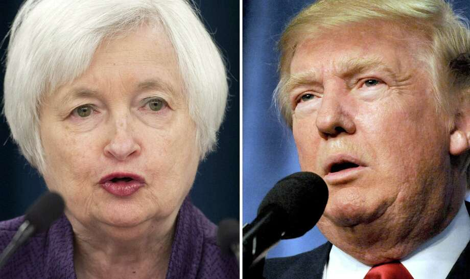 President Donald Trump met with Federal Reserve Board Chair Janet Yellen on Thursday as he nears completing his search for the next leader of the U.S. central bank when her term ends in February. Photo: AFP /Getty Images File Photo / AFP or licensors