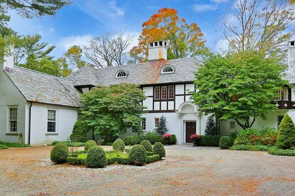 The 153-acre property at 144 Huckleberry Hill Road in Wilton includes an 11-bedroom home, two smaller guest cottages, an equestrian center and three stocked trout ponds. Formerly owned by Leon Hirsch, the former chairman of U.S. Surgical Corp., the property is up for auction once again. Interested bidders need only a $250,000 check to earn a seat at the bidding table on Nov. 16.