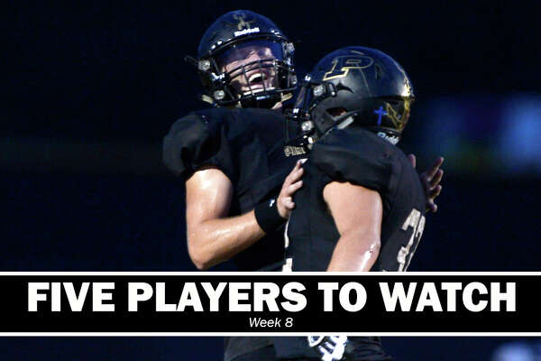 High School Football: Five players to watch heading into Week 8.