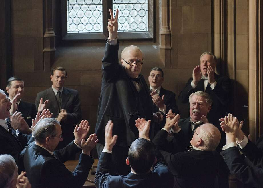 "Gary Oldman as Winston Churchill in ""Darkest Hour.""� The film was directed by Joe Wright. Photo: Focus Features"