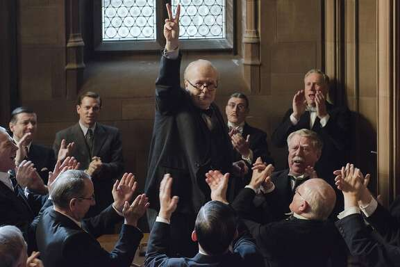 "Gary Oldman as Winston Churchill in ""Darkest Hour.""� The film was directed by Joe Wright."