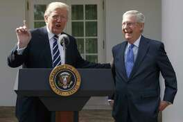 A reader reflects on President Donald Trump's character. Here, he and Senate Majority Leader discuss their relation ship.