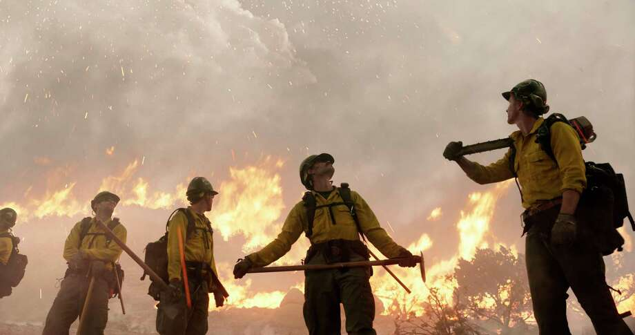 """This image released by Sony Pictures shows a scene from """"Only the Brave."""" (Sony Pictures via AP) ORG XMIT: NYET179 / © 2017 CTMG, Inc. All Rights Reserved. **ALL IMAGES ARE PROPERT"""