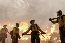 """This image released by Sony Pictures shows a scene from """"Only the Brave."""" (Sony Pictures via AP) ORG XMIT: NYET179"""