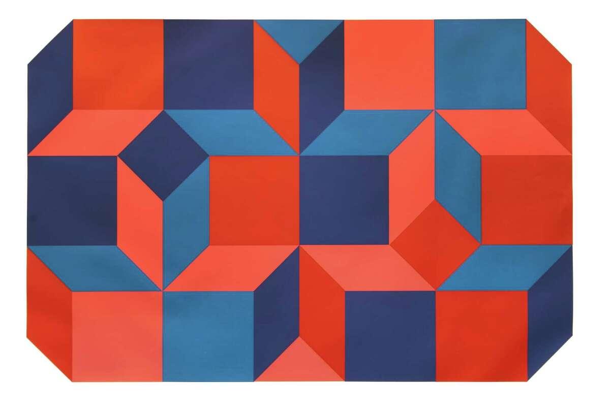 Luis Molinari-Flores Untitled II, 1971 Screenprint on paper 30 x 40 inches Gift of Thomas Scala (Image courtesy University at Albany / University Art Museum)