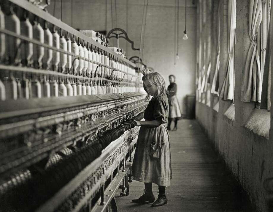 Sadie, a cotton mill spinner, Lancaster, South Carolina, 1908, Lewis Hine.