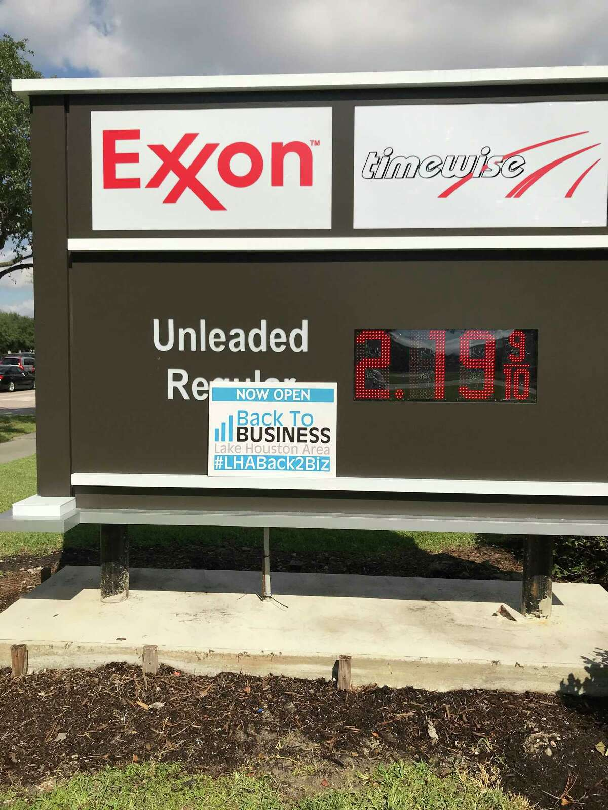 Exxon is back in business.
