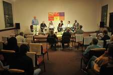 Six candidates — Ed Corey, Byron Francis, and incumbent Ellen Hoehne for the Democrats, John Giansanti, former member John Kissko, and Molly Spino for the Republicans — came together to answer questions from city residents during a forum Wednesday in Torrington.