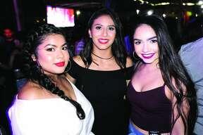 Lisa Garza, Carla Hernandez and Jocelyne Serna at Hal's Landing  Friday, October 20, 2017