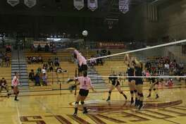 The TAMIU volleyball team lost its Dig Pink game to benefit breast cancer awareness at home Thursday 3-1 against St. Edward's.