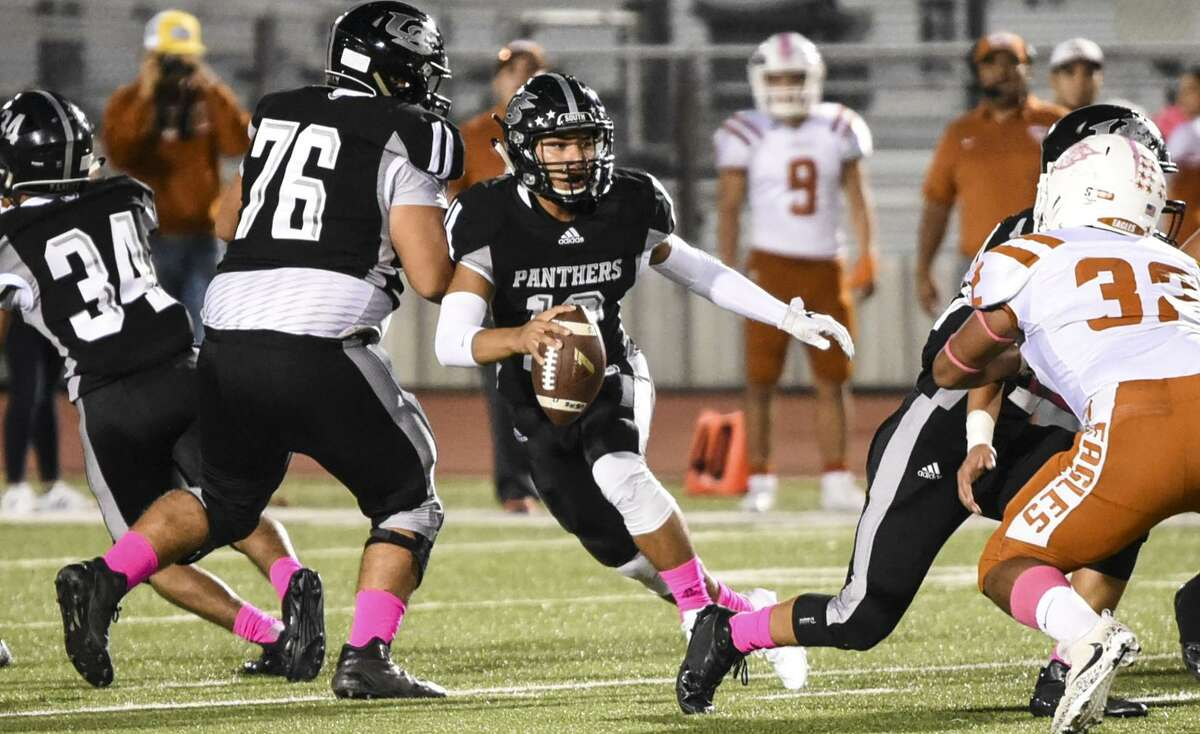 United South quarterback Ismael Contreras, an LMT All-City first team selection, will be one of several local seniors featured in Saturday's 13th-annual South Texas Coaches Association Football All-Star game.