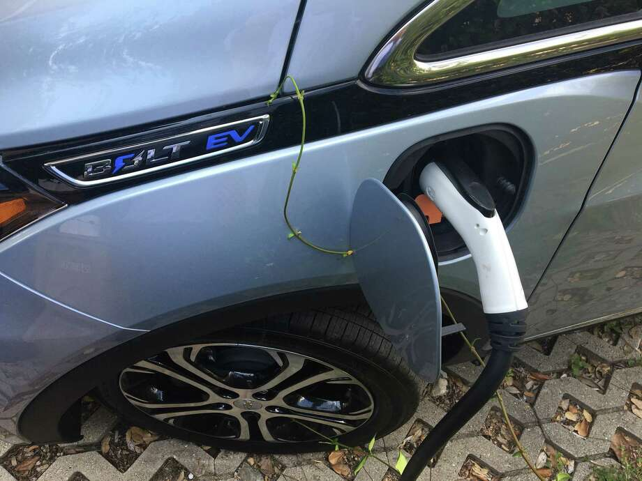 The normal driving range for the Chevrolet Bolt is 238 miles. A bonus with electric vehicles: No oil and filter changes. Photo: Chris Tomlinson