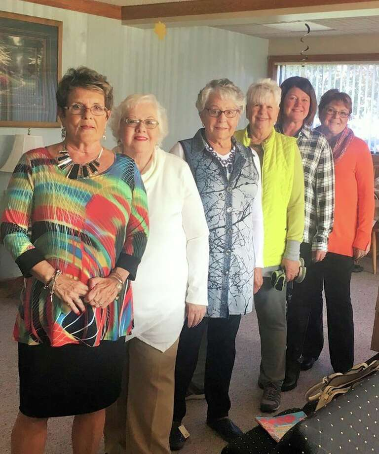 Scheurer Hospital Auxiliary recently held its Fall Fashion Show at the Scheurer Professional Center. The auxiliary was thankful for Amy's and Linda's Basket Case of Pigeon and Buckley's Shoes of Bad Axe and their efforts in making the event a success. From left, participants in the show included Donna Schuette, Jane Walker, Shirley Deering, Dorothy Thuemmel, Karen Peterson and Nancy Streussnig. (Submitted Photo)
