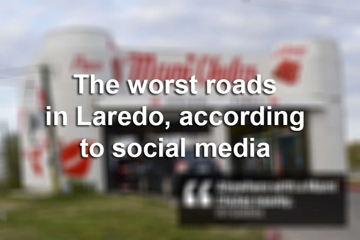 Click through the gallery to see what social media users said were the worst roads in Laredo.