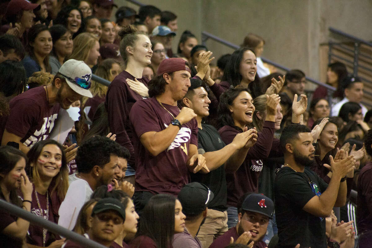 Dustdevils come together to kick off the new basketball season at the Maroon Madness event held at the TAMIU Kinesiology-Convocation Building on Wednesday, October 18, 2017.