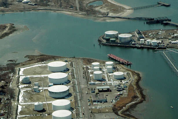 Morgan Kaolina AEROPIX 3/08/06  Motiva Enterprises, jointly owned by Shell Oil and Saudi Armaco, owns and operates a portion of this tank farm on Eagles Nest Road in Bridgeport, while the remainder of the facility is owned and operated by Consumers Petroleum.