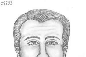 A suspect similar in appearance to this police sketch reportedly tried to lure an 11-year-old girl into his car near the intersection of Middlebrook and Bay Area on Oct. 8, 2017, Pasadena police report.