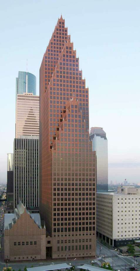 Houston's Bank of America Center was named the most beautiful building in Texas.