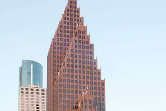 Bank of America Center, a 56-story, 1.2 million-square-foot building at 700 Louisiana in the Theater District, was designed by architects Philip Johnson and John Burgee. Developed by Hines, the building was completed in 1983.