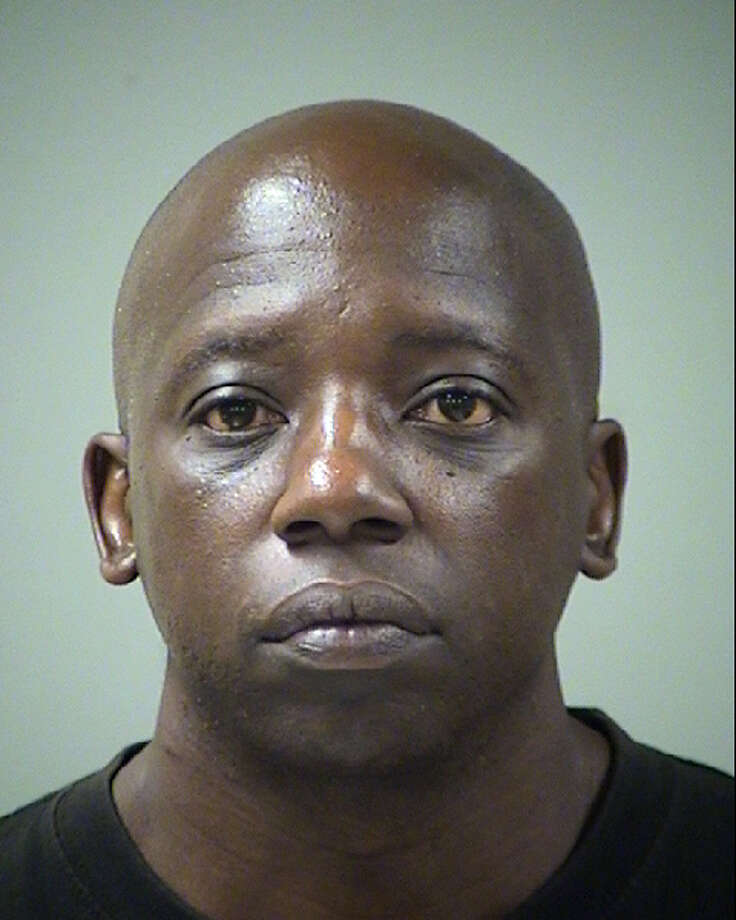 The suspect driver, Marcus Allen Hodge, now faces a charge of failure to stop and render aid and texting while driving, in addition to a parole violation charge. He was booked into the Bexar County Jail on a $40,000 bond. Photo: Bexar County Jail
