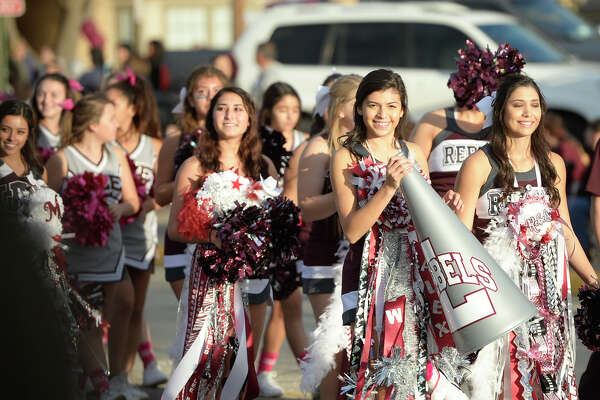 Lee High School homecoming parade Oct. 19, 2017, at Lee High. James Durbin/Reporter-Telegram