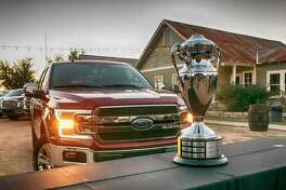 Ford's F-series pickups have earned the Truck of Texas title 14 times.