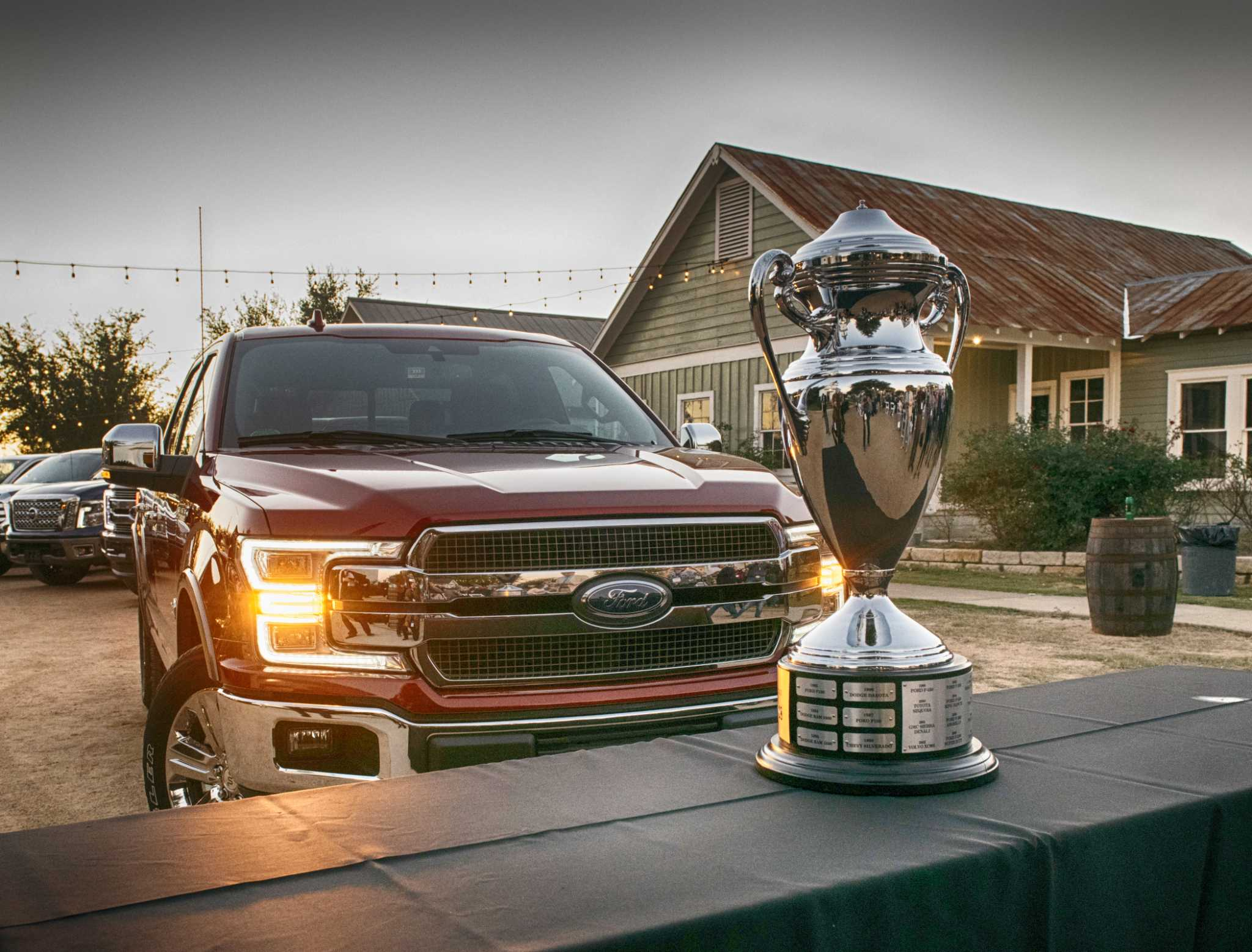 2018 Ford F-150 wins Texas auto writers' game of thrones