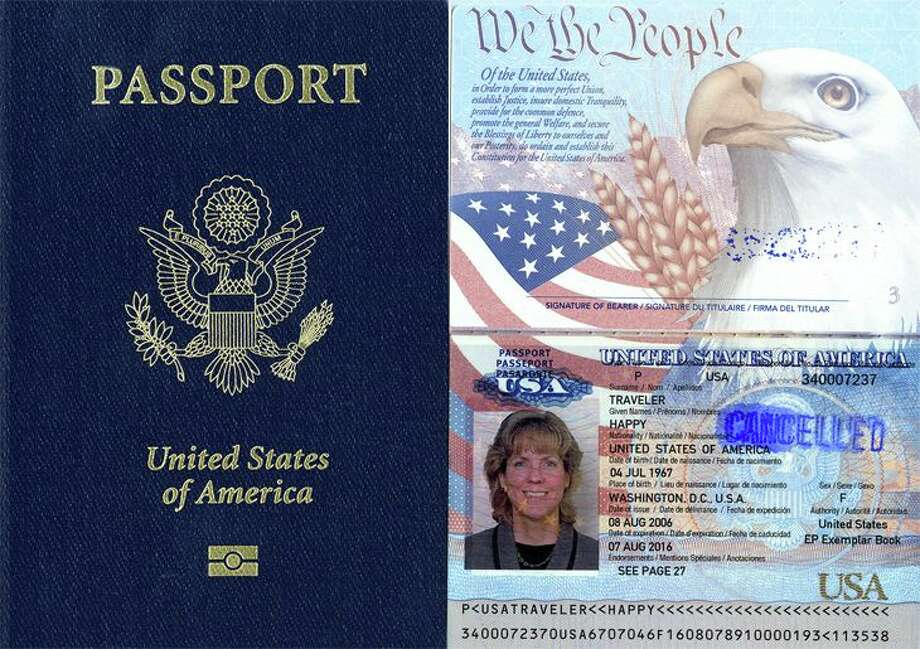 Domestic Needed Passport - For On Post Connecticut Travel Come