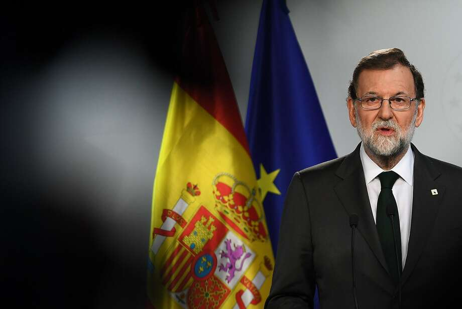European leaders have supported Premier Mariano Rajoy in the escalating conflict with the separatists. Photo: EMMANUEL DUNAND, AFP/Getty Images