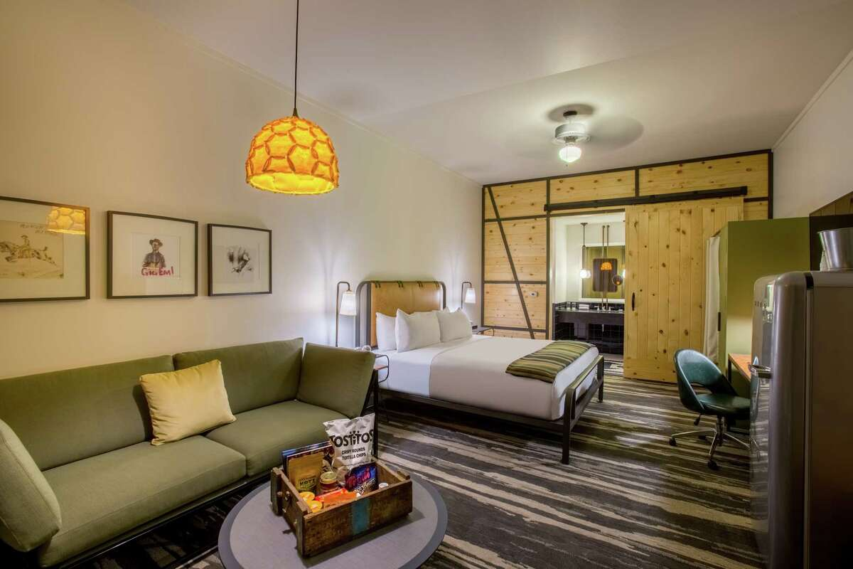 Cavalry Court is a new military-inspired hotel in College Station.