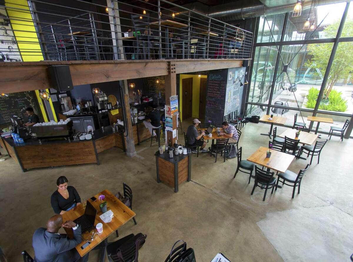 Rosella Coffee on East Jones Avenue, the first of Gonzalez's multiple java ventures.