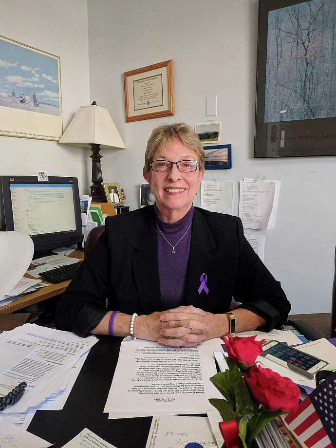 Patricia Zachman, president and CEO of the Women's Center of Greater Danbury, in her office in Danbury, Conn., on Thursday, Oct. 20. 2017. Photo: Contributed Photo / Hearst Connecticut Media / The News-Times Contributed