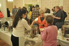 The annual Empty Bowls fundraiser was held Thursday evening in the Elks Lodge on Litchfield Street, as local residents gathered together in fellowship to support the Community Kitchen of Torrington.