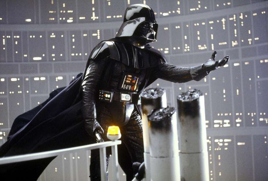 "Darth Vader in a scene from ""The Empire Strikes Back."" Photo courtesy 20th Century Fox Home Video."