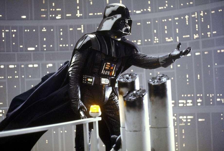 "Darth Vader in ""The Empire Strikes Back."""
