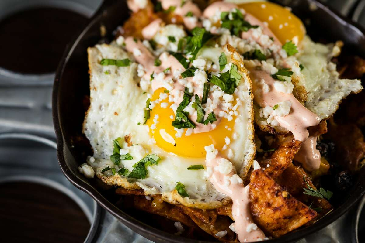 Chilaquiles at the Alamo Drafthouse Cinema. / Photo by www.hlkfotos.com