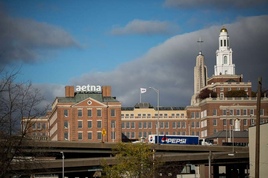 The skyline of Hartford, which is facing the prospect of bankruptcy. The move would have a profound effect on local communities. Photo: Michael Nagle / Bloomberg / Bloomberg