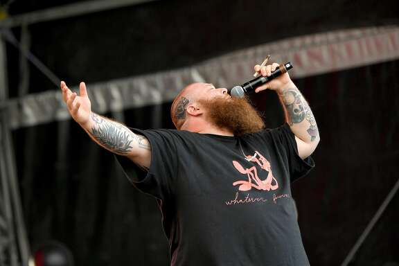 NEW YORK, NY - SEPTEMBER 17:  Action Bronson performs onstage during the Meadows Music and Arts Festival - Day 3 at Citi Field on September 17, 2017 in New York City.  (Photo by Mike Coppola/Getty Images)