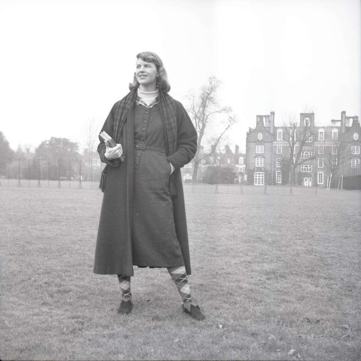 Sylvia Plath, c. 1956.
