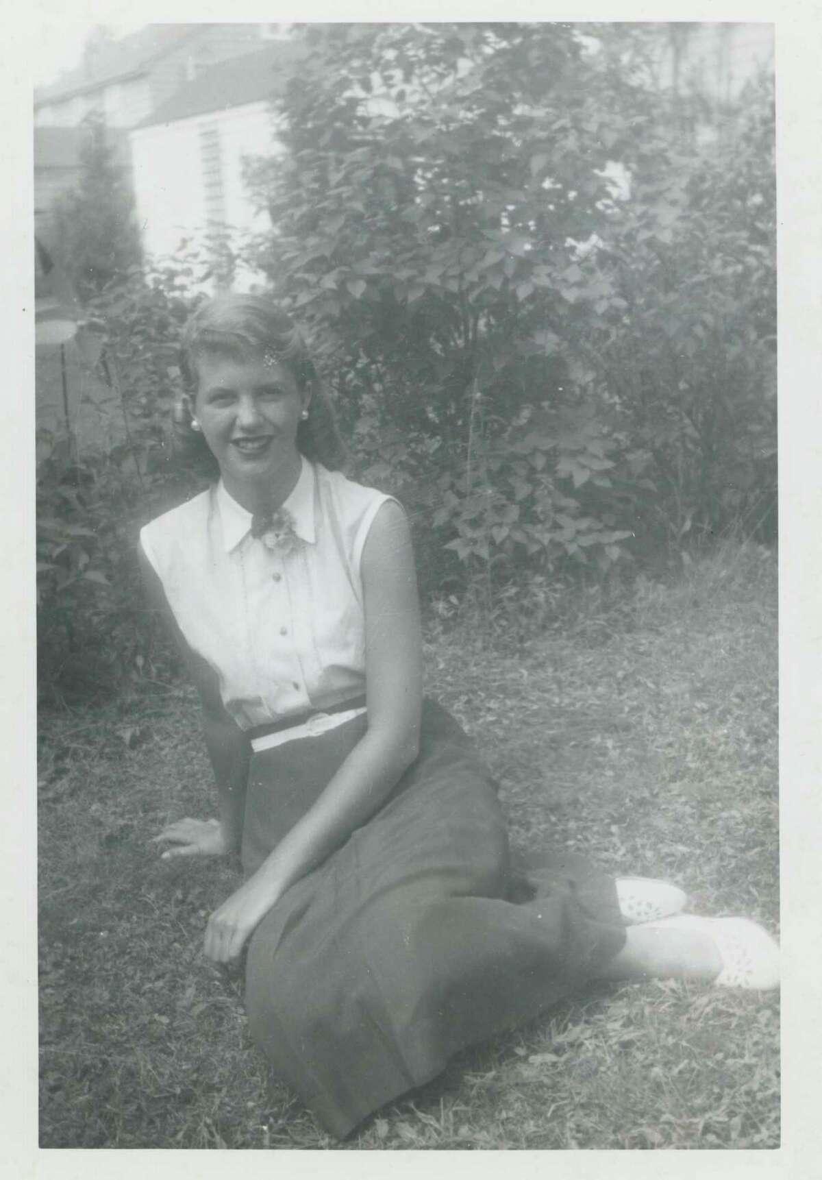 Sylvia Plath, circa 1950