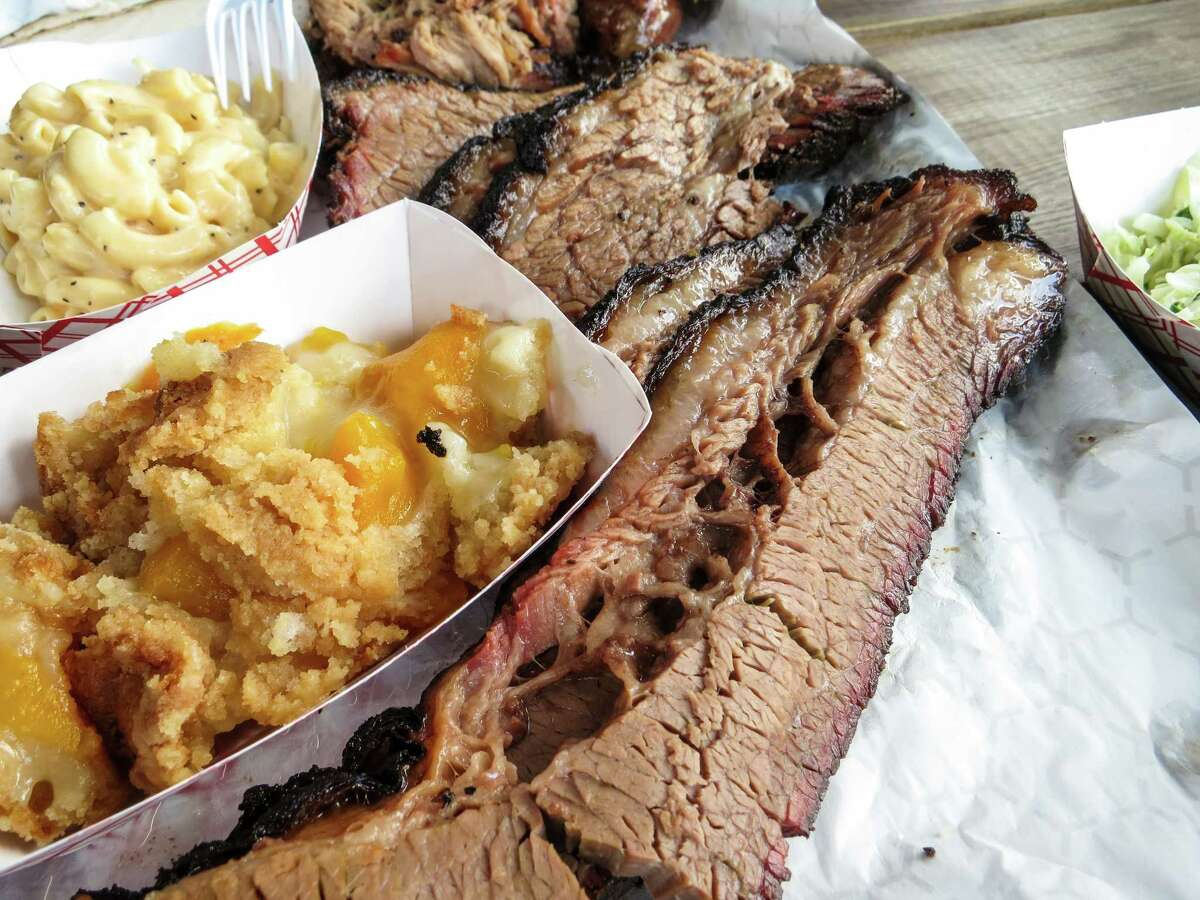 Most craft barbecue pitmasters these days serve brisket with fat cap attached.